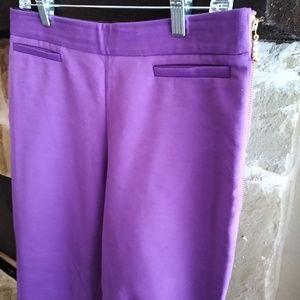 NWOT Kate Spade Sz 6 Cigarette Pants Side Zip Crop